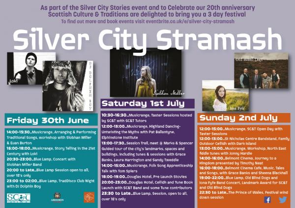 Silver city stramash flyer poster final screen
