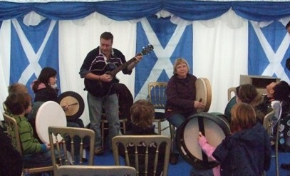 Young Bodhran learners